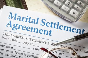 Financial Marital Settlement Agreement. Divorce mediation tools